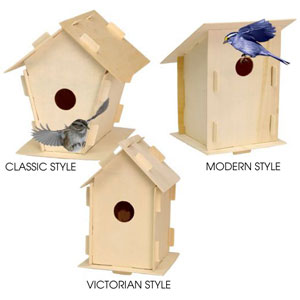 21A1 - Outdoor Birdhouse Kits